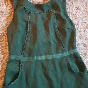 Esley Green Dress, sz XS